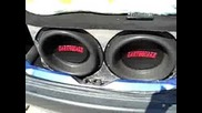 kataraman saxo earthquake Dbxi subwoofer excursion Xmax part2