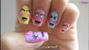 Cute Expression Nails