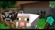 Minecraft Jungle Survival Ep.07 - Ферма за животни !