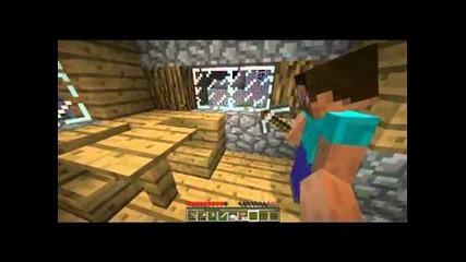 Minecraft - Приключенията на Дани , Mapиo и Зайо Еп.3