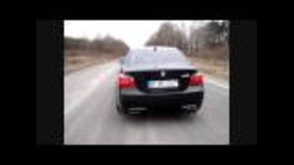 Bmw M5 E60 kickdown burnout