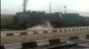 Парен локомотив на гара Септември