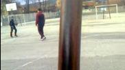 Влог - Sauruman играе баскетбол :d