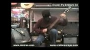 electric guitar Cruzer Rv-820/gmt.bk