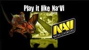 Dota 2 - Play it like Na'vi #1