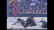cena & hbk vs undertaker & batista - no way out - part 2
