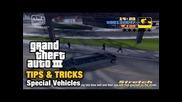 Gta3 Tips & Tricks - Special Vehicles
