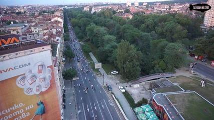 Протест от въздуха и земята ден 9- дълга версия