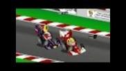 F1: Анимирана Гран При на Германия (нюрбургринг) 2011