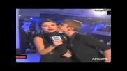 Justin Bieber Kisses Selena Gomez and 2011 Mtv Video Music Award Highlights