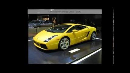 Lamborghini exhaust sounds 1964 - 2011