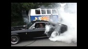 Ford Mustang Gt500 Eleanor burnout @ Bug Biss - Video 2