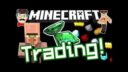 Minecraft Villager Trading ! Emeralds Buy & Sell - 12w21a !