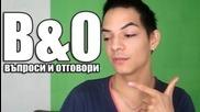 Задай въпрос на Stambini за месечната поредица В&o 2012