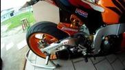 обичам този звук!!! Honda Cbr 1000 Rr Repsol 2011 Yoshimura Full