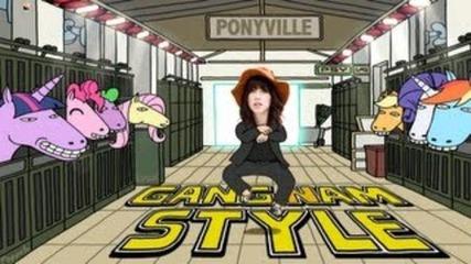 Carly Rae Jepsen vs Psy - Call Me Gangnam Style