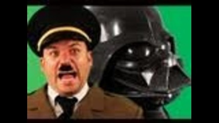 "Hitler vs Dark Vader - ""епични рап битки на историята"" / Epic Rap Battles Of history """
