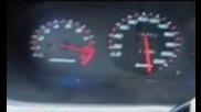 Honda Civic - Ускорение до 260 км
