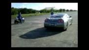 2008 Gsxr 1000cc vs Gtr