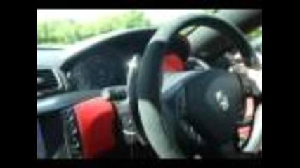 Maserati Granturismo S Ride & Acceleration