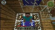Minecraft: Тройно оцеляване. Епизод 4 ( Промени по Къщата И Redstone )