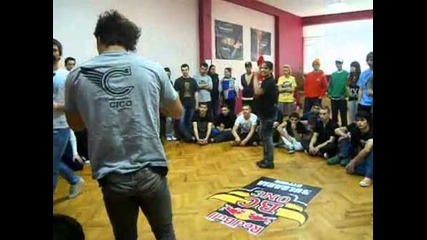Bboy Cico Workshop In Bulgaria