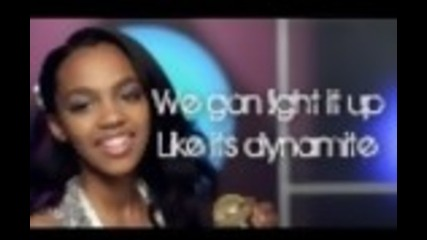 Dynamite China Mcclain Lyrics Hd A.n.t Farm