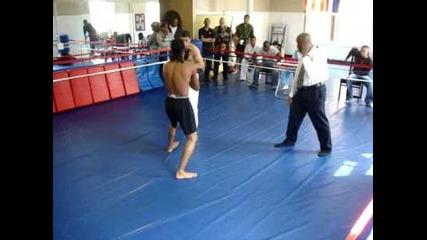 Wing Chun Vs Kick boxer 2009