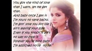Selena Gomez - Come And Get It ( Lyrics On Screen )