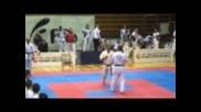 Международно състезание по шинкиокушин карате част 1