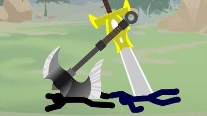 League of Legends Stick Figure Demacia Vs Noxus