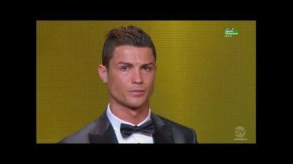 Кристиано Роналдо печели Златната Топка