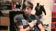 Louis Tomlinson talks boobs, his nipples & fans to Sugarscape