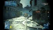 """Battlefield 3 """"битката за Париж"""" Част 2 (с Dasergant)"""