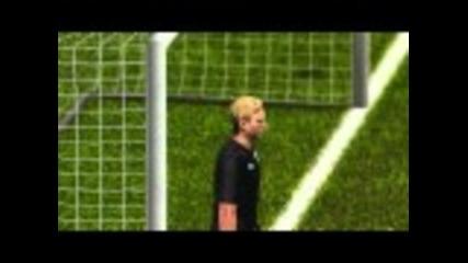Pes 2012 penalty shootout England vs Germany