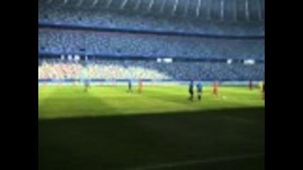 Pes 12 - Gameplay [inter vs Bayern]