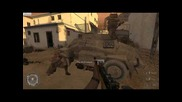 Call of Duty 2 Veteran 14. Armored Car Escape, Outnumbered and Outgunned, Rommel's Last Stand