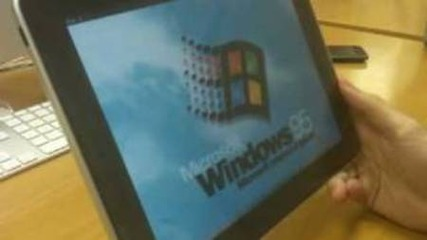 Windows 95 на Ipad