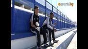 Гипсираха ръката на футболист от Лудогорец