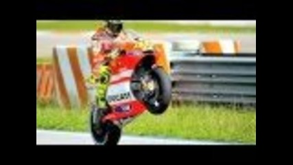 2011 Motogp Ducati Team Valentino Rossi & Nick Hayden winter test !