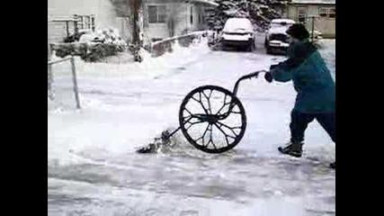 Най-новата система за чистена на сняг