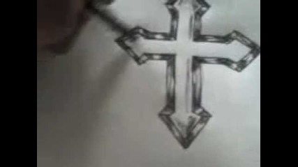 How to draw cross (for begginers)
