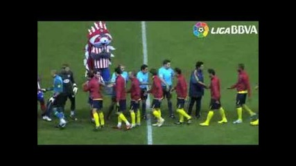 Atletico de Madrid Vs Barcelona 2-1