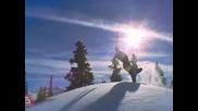 Ски спускане свободен стил