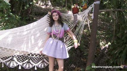 Selena Gomez - Teen Vogue Cover Shoot