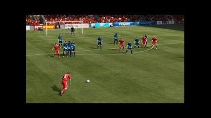 Fifa 12 Hints and Tips | Driven Free Kicks