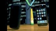 Войната на телефоните! Blackberry iphone Htc