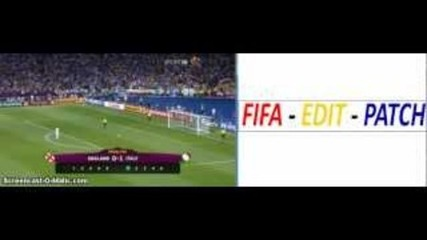 Англия-италия 2-4 (euro 2012)