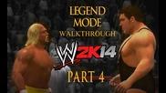 Hulk Hogan vs. Andre The Giant - 30 Years of Wrestlemania Walkthrough Wwe 2k14 Part 4