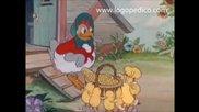 Кокошка при хамбара - детска песничка (с текст)
